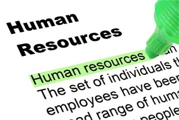 Human Resources Highlighted In Green